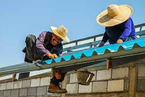 Repair roofing