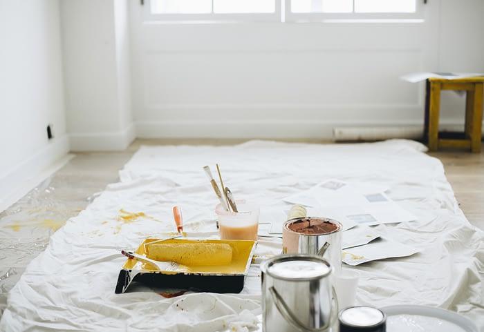 paint white